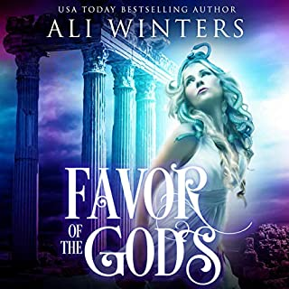 Favor of the Gods audiobook cover art