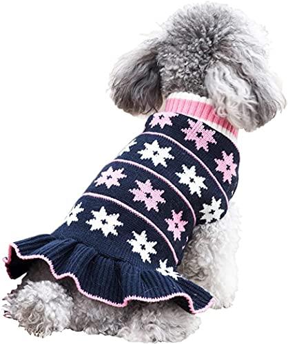 kyeese Fashion Dog Sweater Dress