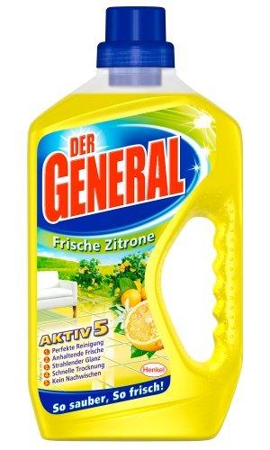 Der General Frische Zitrone, Allzweckreiniger, 4er Pack (4 x 750 ml)