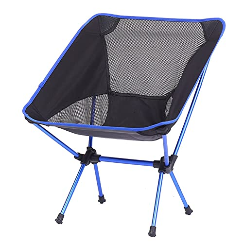 Sedia Campeggio Pieghevole Leggera, QWEA Sedia pieghevole da viaggio ultraleggera super resistente ad alto carico sedia da campeggio all'aperto sedia da campeggio portatile per escursionismo da pic