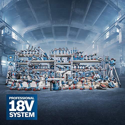 Bosch Professional GKS 18 V-LI Akku-Kreissäge, Schnitttiefe 90/45 Grad, 51/40 mm, stufenlose Schnitttiefeneinstellung in L-Boxx ohne Akku und Ladegerät, 1 Stück, 060166H006 - 2