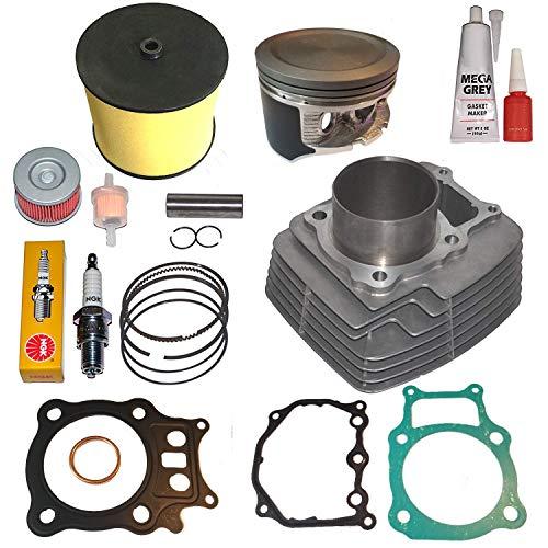 Fits Honda Rancher Trx350 TRX 350 Big Bore 355cc Cylinder Piston Kit Set 2000 2001 2002 2003 2004 2005 2006
