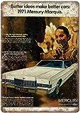 None Brand Mercury Marquis Lincoln Ford Auto Blechschild