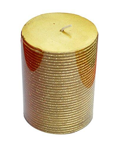 EL CARNAVAL Taco Vela Oro 10cms.