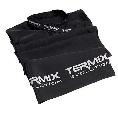 Termix Capa de corte profesional- Tejido especial para trabajar las técnicas de color, con un cierre regulable que se adapta a la medida del cuello