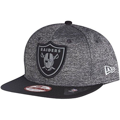 New Era 9Fifty Snapback Cap - Grey Oakland Raiders - S/M