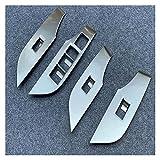 Big sell 001 ABS de fibra de carbono Puerta de vidrio Panel de vidrio Reproductor de ascensor Interruptor de interruptor de techo Accesorios para automóviles Ajuste para TOYOTA RAV4 RAV 4 2019 2020