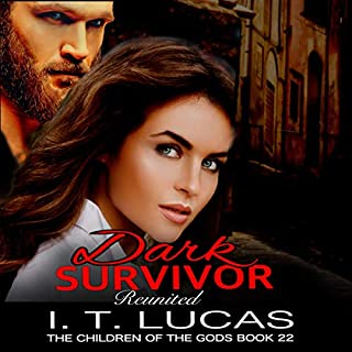 Dark Survivor Reunited      The Children of the Gods Paranormal Romance Series, Book 22              By:                                                                                                                                 I. T. Lucas                               Narrated by:                                                                                                                                 Charles Lawrence                      Length: 7 hrs and 42 mins     Not rated yet     Overall 0.0