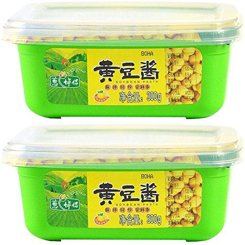 葱伴侶 中国大豆みそ(黄豆醤) 300g×2個