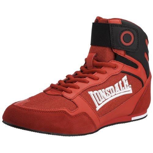 Lonsdale Men's Hook Boot Red LMA228 12 UK