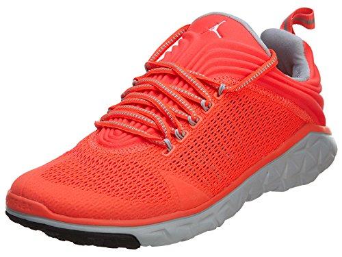Nike Air Jordan Flight Flex Trainer 654268 614 Aktuelles Modell Infrared/Grau, Schuhgröße:EUR 42
