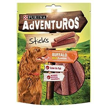 Purina Adventuros Sticks with Buffalo Flavour 120g,