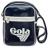 Borsa GOLA Verticale Mini Bronson - Shoulder Bag - ZCUB940EW 27x20 - Navy/White