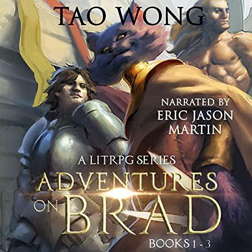 Adventures on Brad, Books 1 - 3 cover art