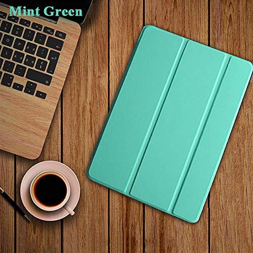 Beschermhoes voor iPad 10.2 inch 2019 7e generatie A2197 A2200 A2198 PU Smart Wekker Ultra Slim voor iPad 10.2 inch Mint Groen