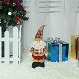 SZMYLED Decoración de Navidad, figuras telescópicas, juguete de Navidad, Papá...