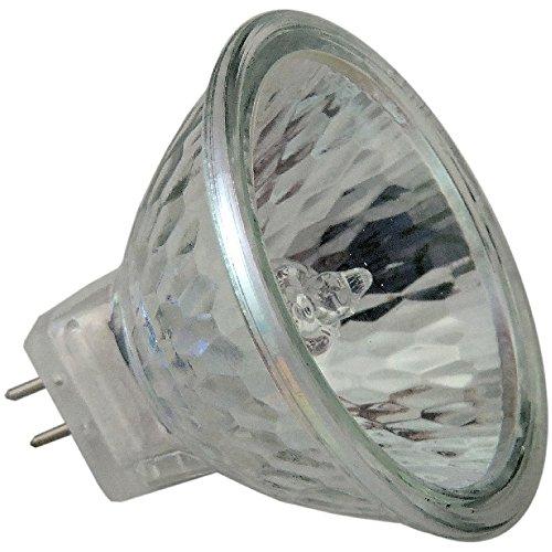 takestop® Set 10 stuks spots DICRO Lamp ALOGENA G4 35W 540 lumen warm wit 2700K 34x34 mm energieklasse C