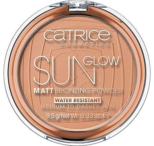 Catrice Sun Glow Matt Bronzing Powder, Nr. 035 Universal Bronze, braun, für Mischhaut, für trockene Haut, für unreine Haut, mattierend, matt, vegan, Nanopartikel frei (9,5g)