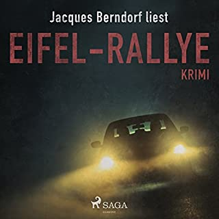 Eifel-Rallye audiobook cover art