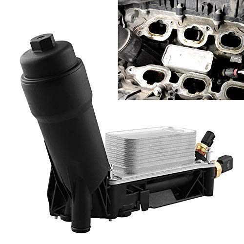 ZXY-NAN Car Modification Oil Cooler Filter Housing Filter Base 5184294AE, for Jeep