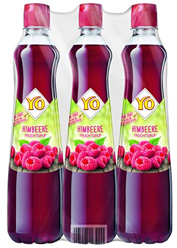 Yo Sirup Himbeere, 6er Pack, PET (6 x 700ml)