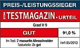 Graef H93EU Allesschneider, rot - 3