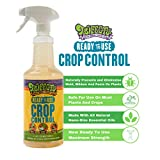 Trifecta Crop Control Ready to Use Maximum Strength Natural Pesticide, Fungicide, Miticide, Insecticide, Help Defeat Spider Mites, Powdery Mildew, Botrytis and Mold on Plants 32 OZ Size