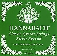 CUERDAS GUITARRA CLASICA - Hannabach (815/LT) Verde (Juego Completo)