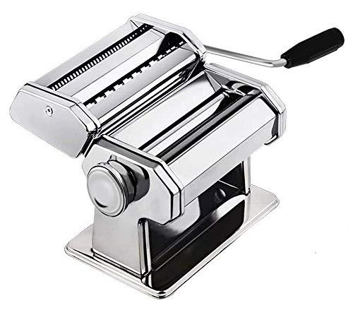 Máquina de pasta casera de acero inoxidable resistente para los fideos de lasaña Fútbol Fresh Spaghetti Macaroni LASAGA Dough Roll Cutter lucar