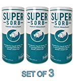 Super Sorb Instant Absorbent Clean Up Vomit 12 oz [Set of 3]
