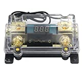 ZOOKOTO 200A Fuse Holder,Car Stereo Audio Led Display Digital Voltage Inline ANL Fuse Hold...
