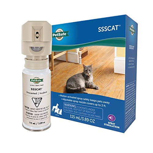 PetSafe SSSCAT Spray Pet Deterrent, Motion Activated Pet...