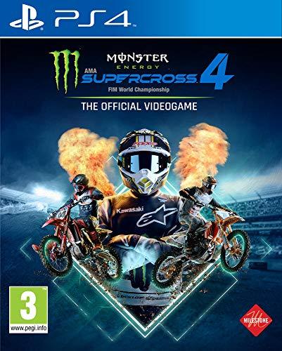 Monster Energy Supercross - The Official Videogame 4 - PlayStation 4 [Importación francesa]