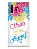 Inspired Cases - 3D Textured Galaxy Note 10 Case - Rubber Bumper Cover - Protective Phone Case for Samsung Galaxy Note 10 - Nana of an Angel