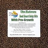Aquatic Foods Inc. Pro-Growth Enhanced California Blackworm/Beef Heart Mix Baby Bits for Discus,...