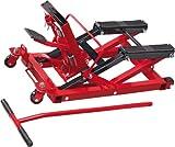 Cartrend 50241 Ponte Sollevatore Motocicletta, Capacità Fino a 680 kg