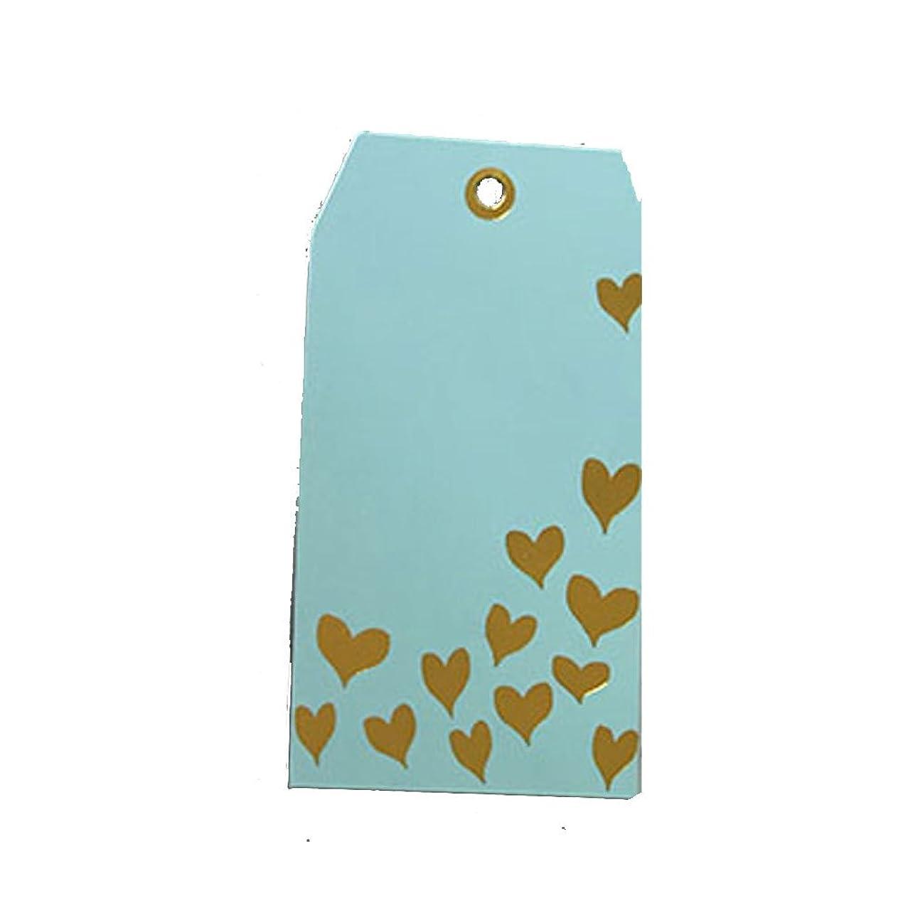 Presto Card Stock Gift Tag Gold Hearts Tags (5 Pack)