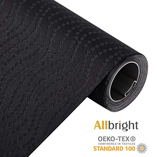 ALLBRIGHT Vertical Circle 100%Blackout Manual Roller Shades for Windows, UV Protection, Thermal Insulated Blackout Shades, Oeko_TEX Standard 100, 23