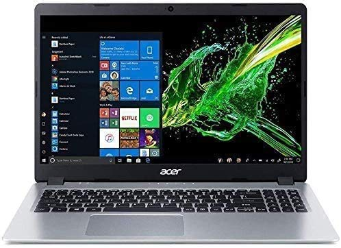 Acer Aspire 5 15.6' FHD 180P Laptop Computer 10th Gen Intel Core i3-1005G1 Processor (Up to 3.4GHz) 16GB RAM 256GB SSD Backlit Keyboard WiFi Bluetooth HDMI Windows 10 Pro