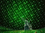 Simxen 5MW Teaching Pen, Green Laser Pointer, High Power Flashlight Beam Laser Pointer