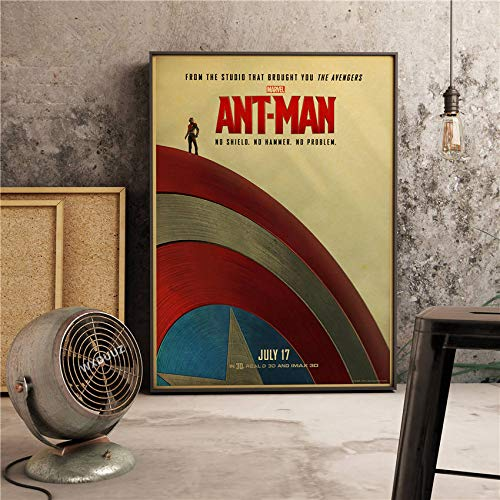 Der Kapitän Classic Super Hero Filme Poster Wohnkultur Wandkunst Bild Bild Kinderzimmer Kinderzimmer Malerei Leinwand Malerei 40 * 50cm C.