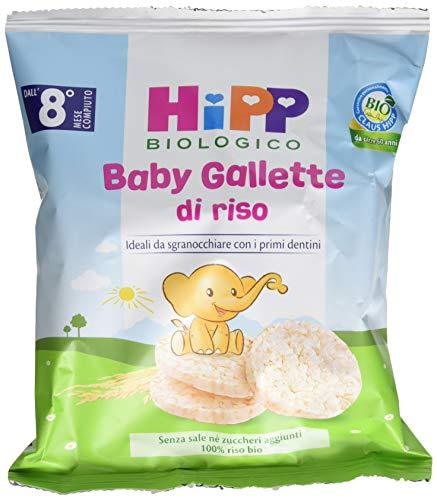 Hipp Baby Snack Gallette di Riso - Confezione da 7 x 35 g