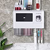 Toothbrush Holders Wall Mounted, Yoobure Automatic Toothpaste...