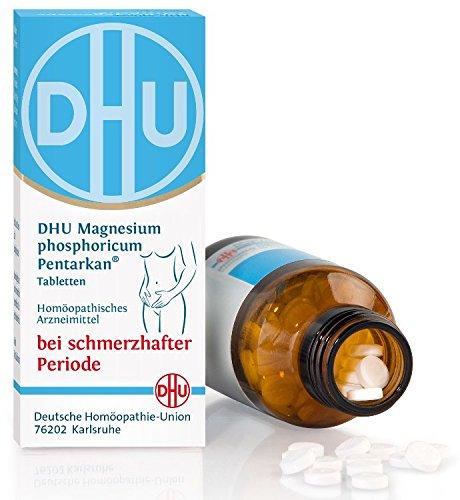 DHU Magnesium phosphoricum Pentarkan Spar-Set 2x80Tabletten. Hilft gegen krampfartige Periodenschmerzen im Unterleib und unteren Rückenbereich. Bewährte Wirkstoffe ergänzen sich ideal gegen Krämpfe und Schmerzen.