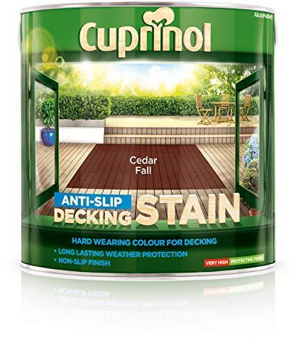 Cuprinol 2.5L Anti Slip Decking Stain Cedar Fall