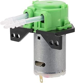 Peristaltic Pump, Akozon DC12V/24V DIY Peristaltic Liquid Pump Dosing Pump for Aquarium Lab Chemical Analysis(Green 12V 24)