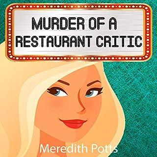 Murder of a Restaurant Critic audiobook cover art