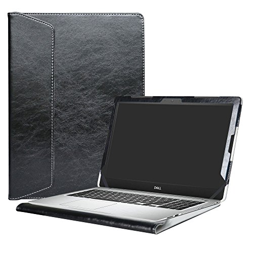 Alapmk Protective Case Cover for 15.6' Dell Inspiron 15 5570 5575 5566 5555 5559 5558 5557 Laptop(Warning:Not fit Model 5578 5568 5579 5584 5593 5594),Black