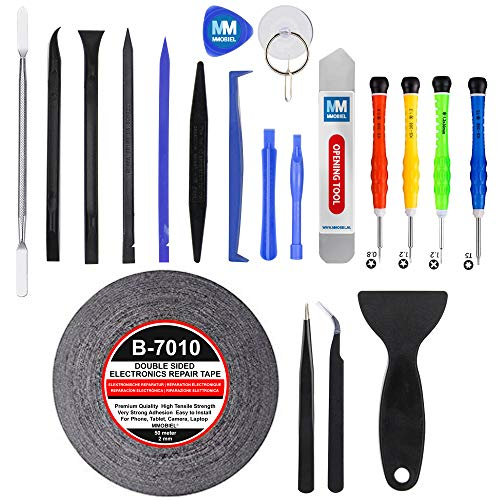 MMOBIEL 21 Piece Professional Repair Opening Kit and Screwdriver set Compatible with various devices