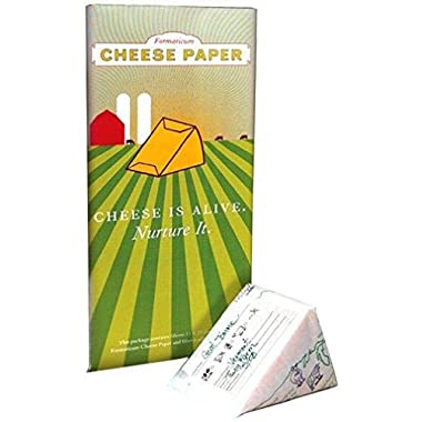 Formaticum Bundle - Cheese Storage Bags and Cheese Storage Paper, Adhesive Labels